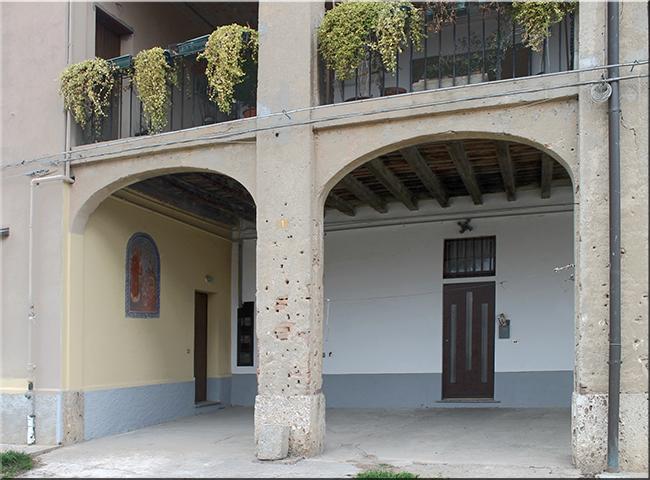 Sant antonio di padova e il beato giobbe corte giulini for Avvolgere le planimetrie del portico